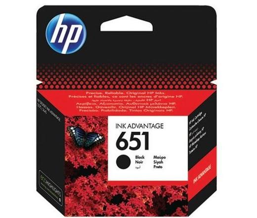 HP 651 fekete eredeti Ink Advantage