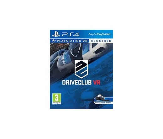 PS4  Playstation VR DriveClub
