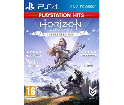 Horizon Zero Dawn Complete Edition PS4 Hits