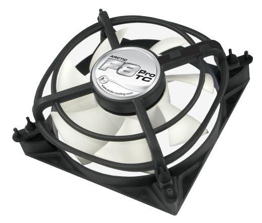 Arctic Cooling F8 Pro TC 8cm rendszerhűtő