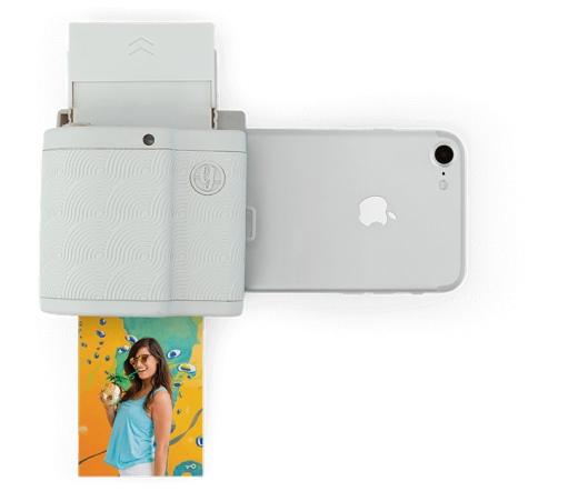 Prynt Pocket fotónyomtató iPhone-hoz világosszürke