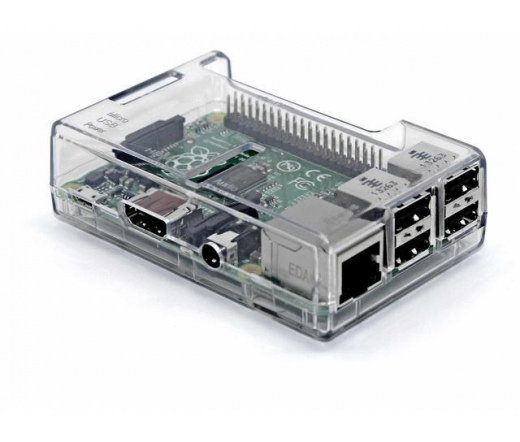 Raspberry Pi Átlátszó Tok