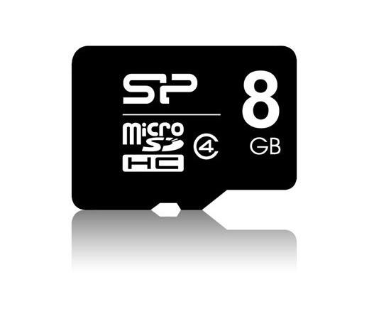 Silicon Power Micro SDHC 8GB Class 4