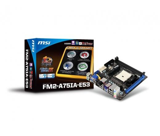 MSI FM2-A75IA-E53