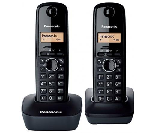 Panasonic KX-TG1612HGH DECT Duo fekete - KX-TG1612HGH - Vezetékes ... 238a5329be