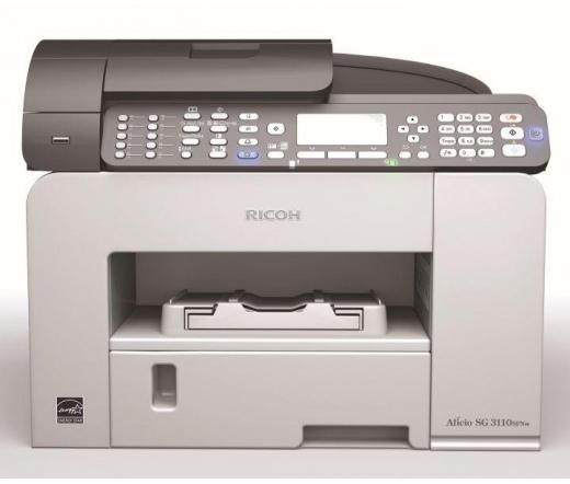 Ricoh Aficio SG 3100SNw Sziníes MFP (fax)