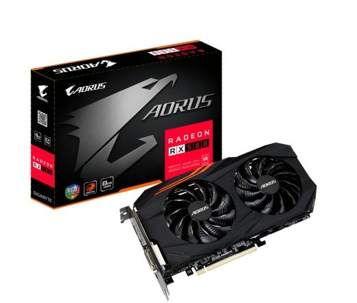 Gigabyte RX580 Aorus 8GB DDR5