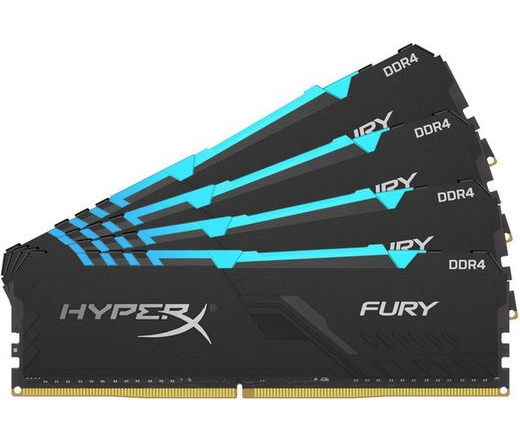 Kingston HyperX Fury RGB DDR4-3466 64GB kit4