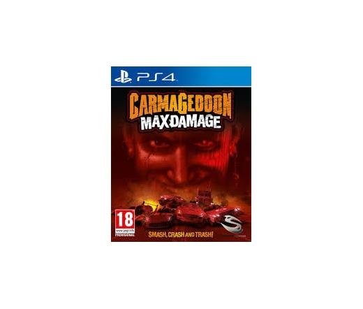 PS4 Carmageddon - Max Damage ajándék DLC (PS4)