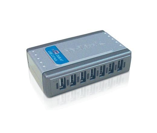 D-Link DUB-H7 USB 2.0 Hub 7 port - DUB-H7