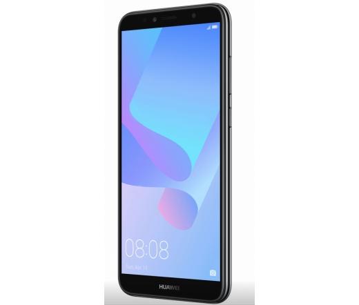 HUAWEI Y6 (2018) 16GB DS fekete