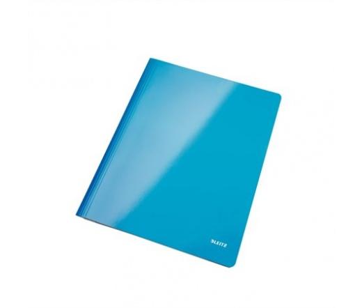 """Leitz """"Wow"""" Gyorsfűző, laminált karton, A4 kék"""