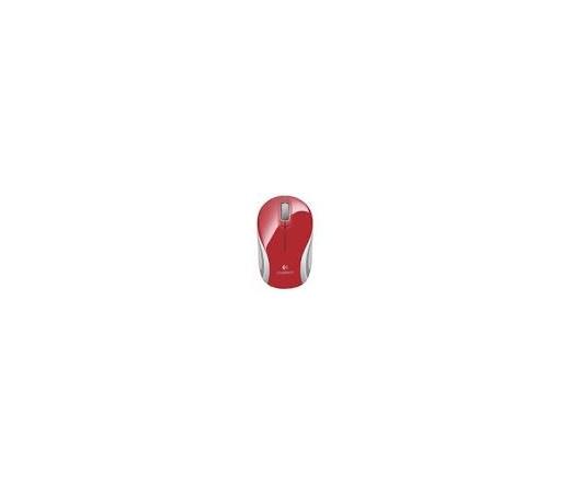Logitech Mini M187 Mini Piros