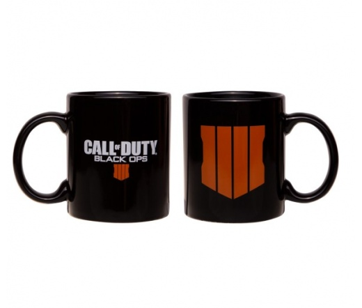 "Call of Duty: Black Ops 4 - ""Logo"" fekete bögre"