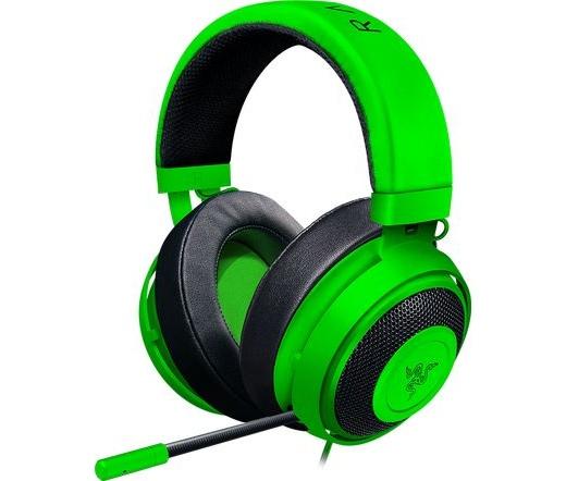 Razer Kraken Pro V2 ovális zöld
