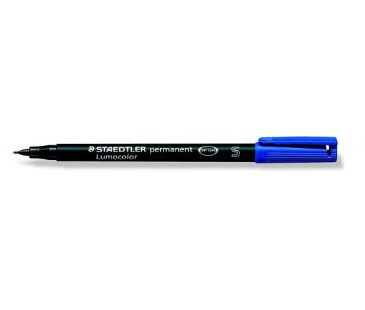 Staedtler Alkoholos marker, OHP, 0,4 mm, kék
