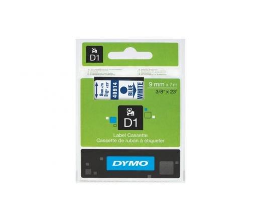 DYMO címke LM D1 alap 9mm kék/fehér