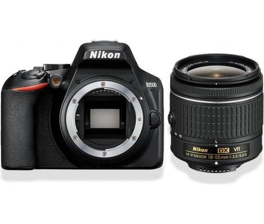 Nikon D3500 + AF-P DX 18–55 VR + 16GB SDHC + Táska