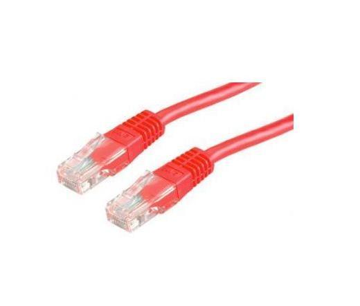 Roline UTP CAT5e patch 5m piros