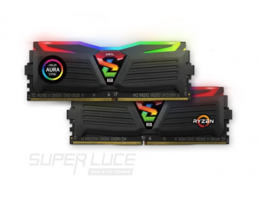 GeIL Super Luce RGB Sync AMD 16GB 2666MHz DDR4 Kit