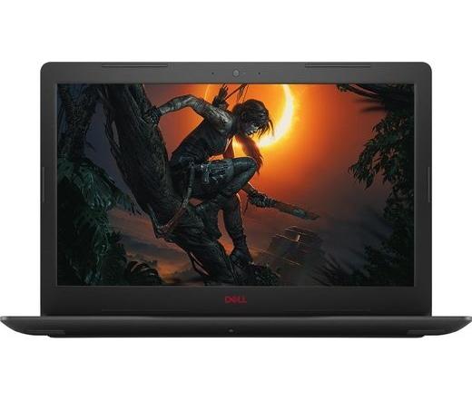 Dell G3 3579 i7-8750H 8GB 128GB/1TB Linux Fekete