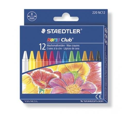"Staedtler Zsírkréta,  ""Noris Club"", 12 darab"