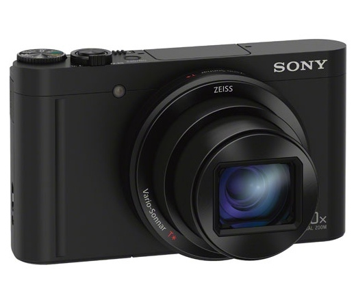 Sony Cyber-shot DSC-WX500 fekete