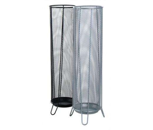 Victoria Esernyőtartó, fémhálós, fekete