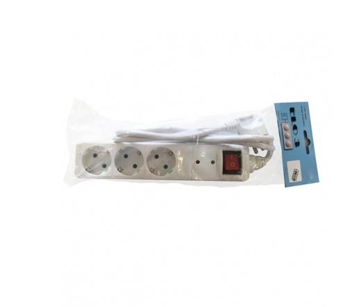 Aoboer túlfeszültségvédős 3-as elosztó, 1,5m, IEC3