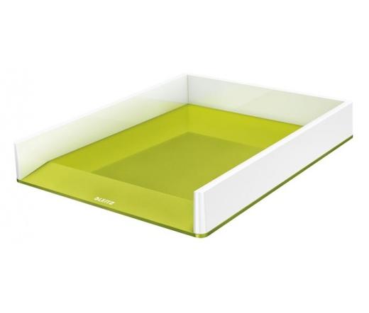 """Leitz """"Wow"""" Irattálca, műanyag, zöld"""