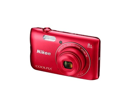 Nikon COOLPIX A300 vörös