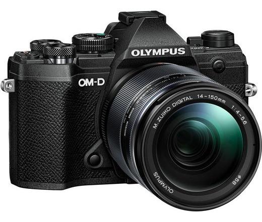Olympus E-M5 Mark III 14-150mm II kit fekete