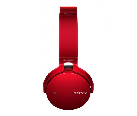 Sony MDR-XB650BT Bluetooth Piros
