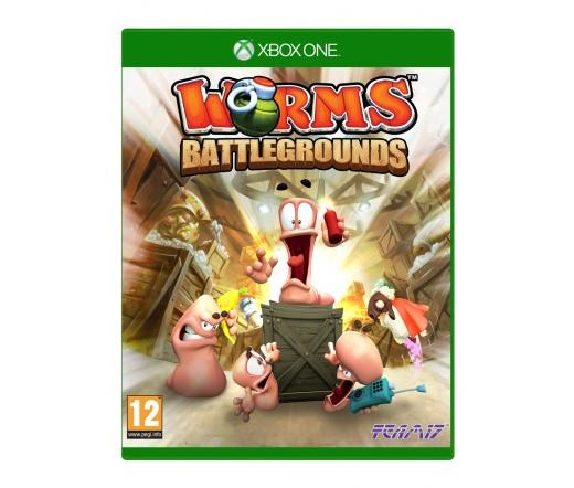 Xbox One Worms Battlegrounds