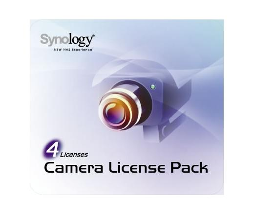 Synology NAS kamera licensz 4 db