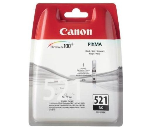 Canon CLI-521BK fekete