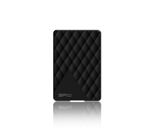 Silicon Power D06 1TB USB3.0 Fekete