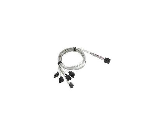 Supermicro MiniSAS HD - 4xSATA kábel CBL-SAST-0631