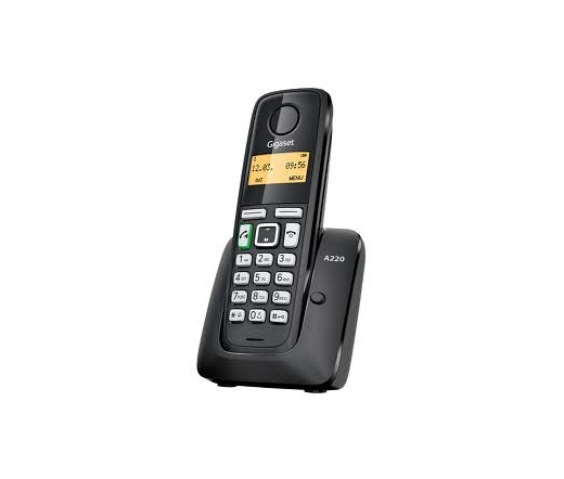 GigaSet A220 Eco Dect Fekete