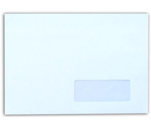 Boríték, LC5, öntapadó, jobb ablakos (500 db)