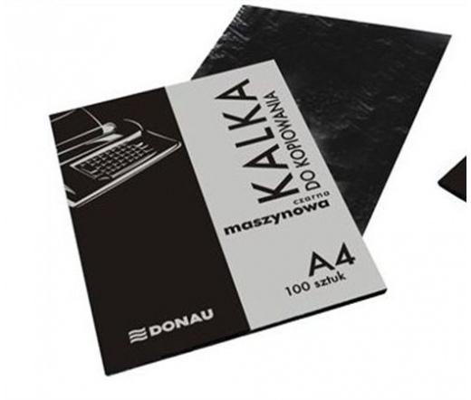 Donau Indigó, gépi, A4, 100 lap, fekete