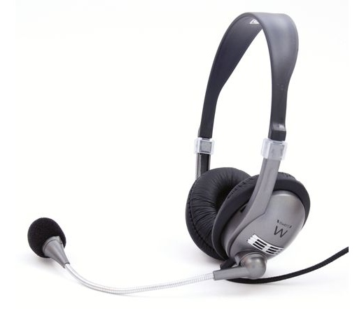 Ewent Headset mikrofonnal (EW3561)