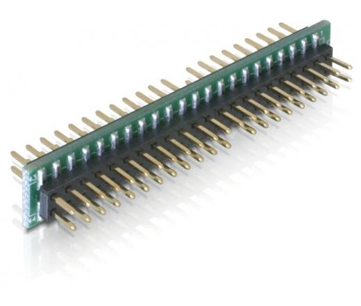 Delock Adapter 44 pin IDE male > 44 pin IDE male