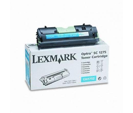 Lexmark Optra SC 1275 toner Cián