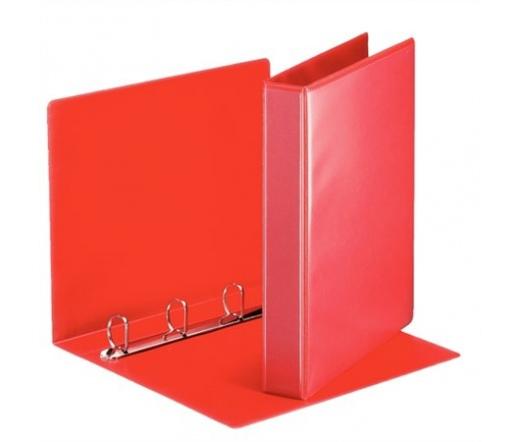 Esselte Gyűrűs dosszié, panorámás D alakú piros