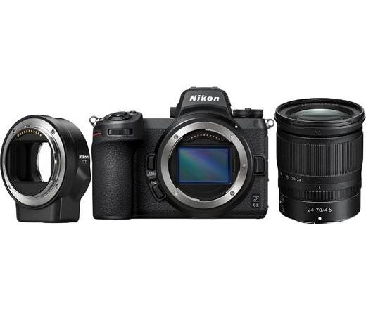 Nikon Z6 II + 24-70 f/4 + FTZ adapter kit