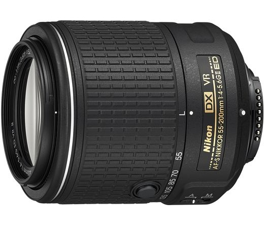 Nikon AF-S DX 55-200mm f/4-5.6G VR II IF-ED