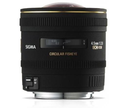 Sigma 4.5mm F2.8 EX DC HSM Circular Fisheye Nikon