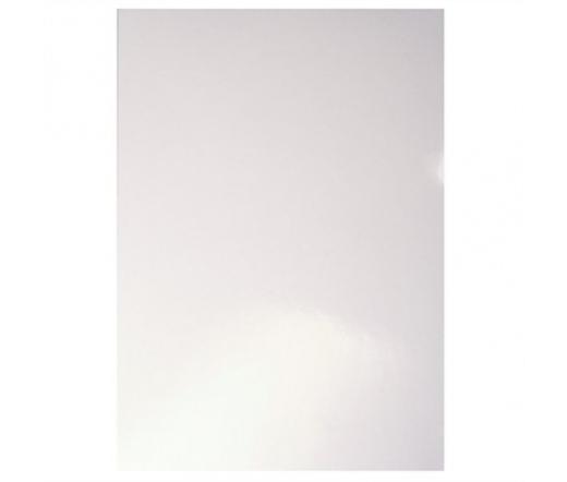 Leitz hátlap, A4, 215 g, fényes, fehér