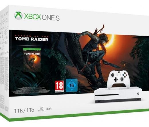 Xbox One S 1TB + Shadow of Tomb Raider